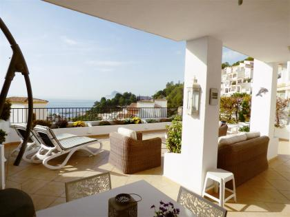 Nice apartment with 3 bedrooms in Altea