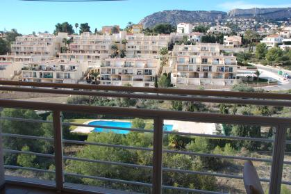Spacious apartment in Calpe with beautiful views