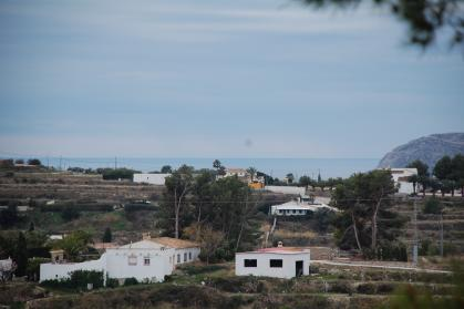 Plot with sea view in Benissa