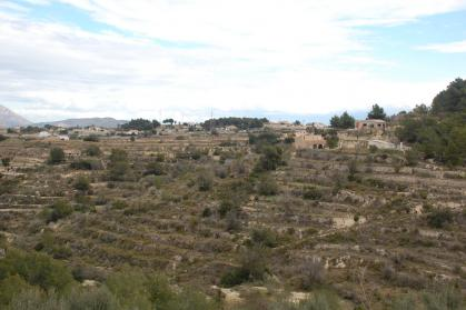 Plot with Countryhouse in Benissa