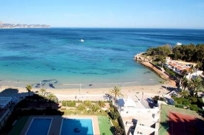2 bedroom Apartment in Calpe at 1º beach line