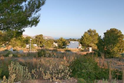 Last building plots with sea views in Moraira