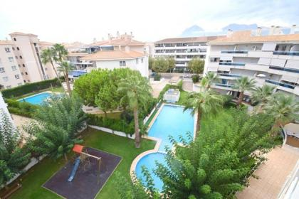 Apartment with 2 bedrooms in Albir