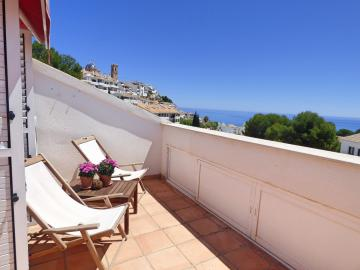 Nice penthouse-duplex in Altea Center with 2 bedrooms