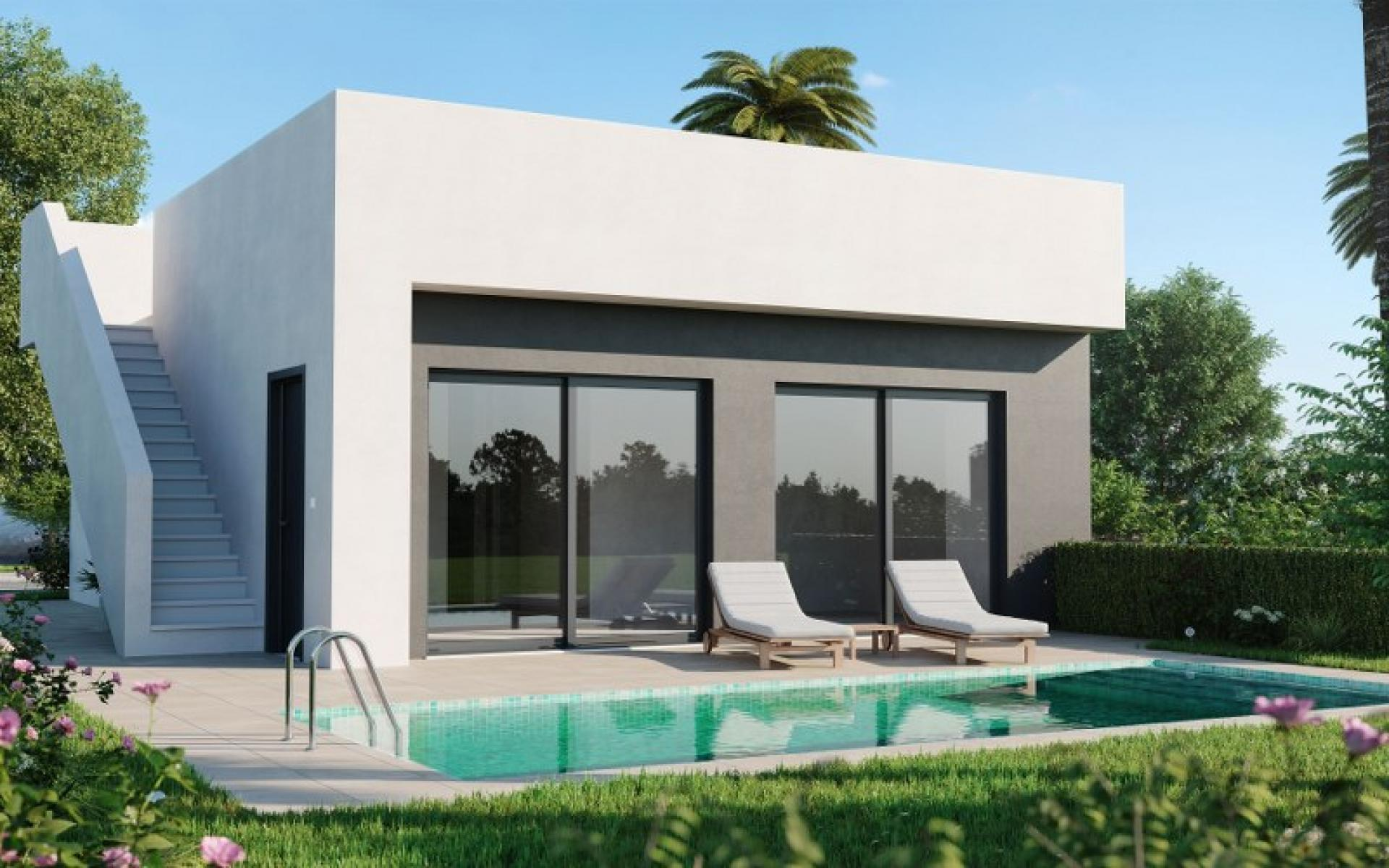 Vrijstaande Front Line Golf Villa in Alhama de Murcia - Select Estates